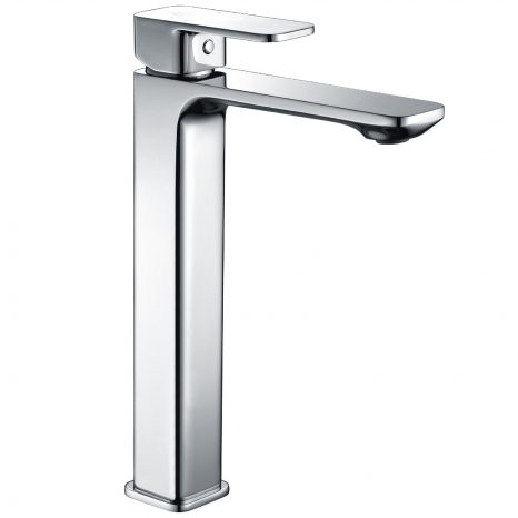 Naiadi Single Hole Single Handle Bath Faucet in Brushed Nickel