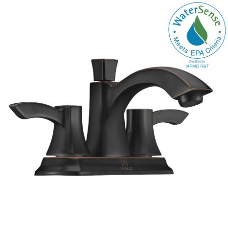 Saunter Single-Handle Vessel Bath Faucet in Oil Rubbed Bronze