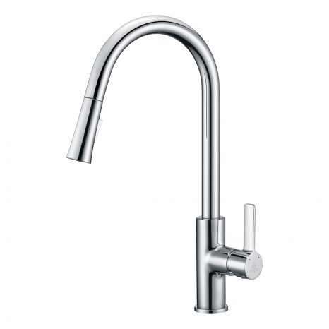 Soave Series 2-Handle Standard Kitchen Faucet in Polished Chrome