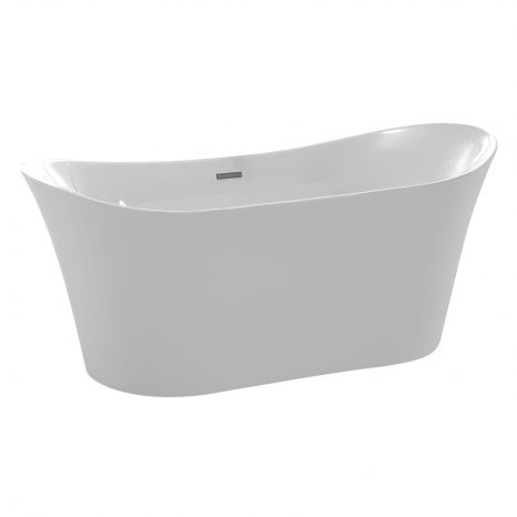 Nora Natural Stone Vessel Sink in White Marble