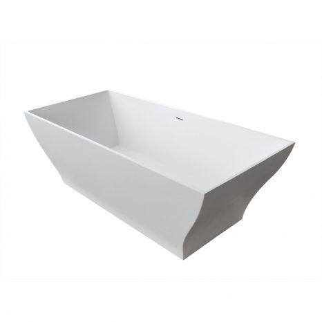 Chand Series 5.58 ft. Freestanding Bathtub in White