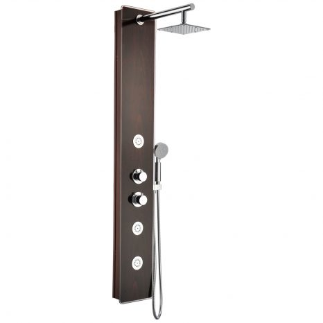 Sharman 36 in. x 36 in. x 74 in. 2-piece Direct-to-Stud Corner Shower Surround in White