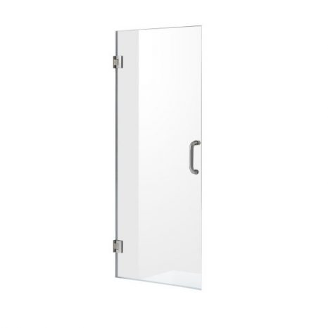 Vasu 60 in. x 36 in. x 74 in. 2-piece Direct-to-Stud Corner Shower Surround in White