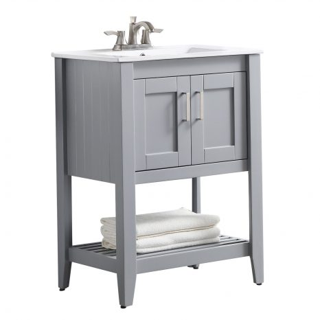 Chateau 72 in. W x 36 in. H Bathroom Bath Vanity Set in Rich White