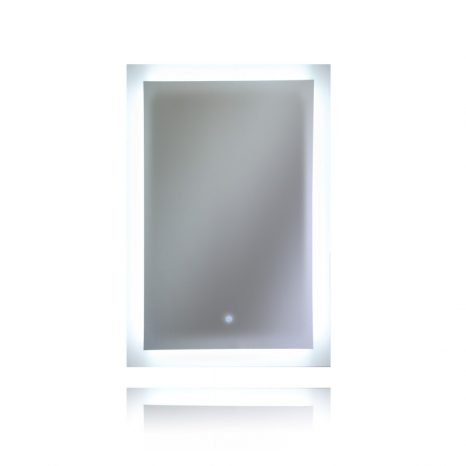 Ether 28 in. x 32 in. Frameless LED Mirror Bathroom Cabinet